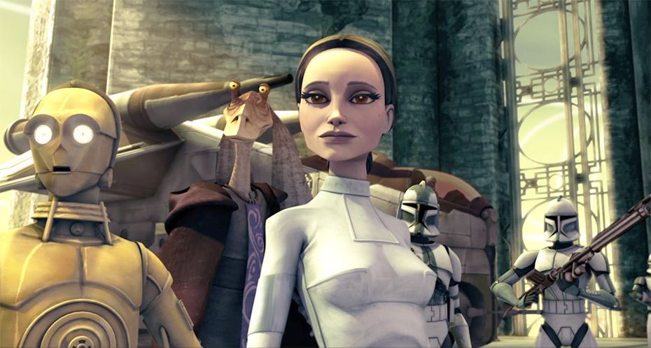Padme Amidala in Star Wars: The Clone Wars