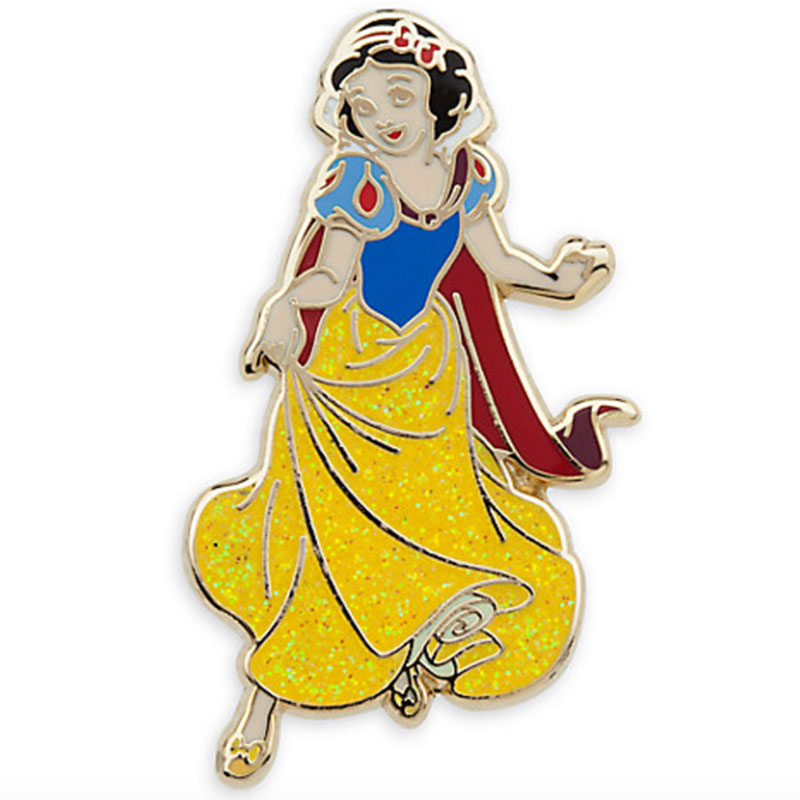 Snow White lapel pin from the Disney Store
