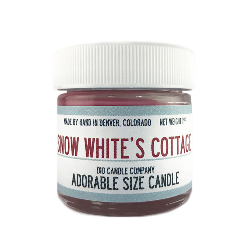 Snow White's Cottage scented candle