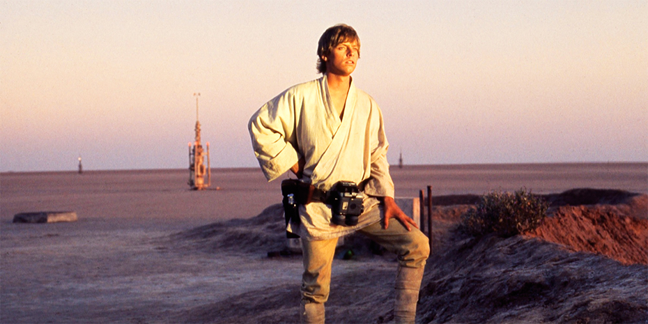 Star Wars: A New Hope Luke Skywalker on Tatooine