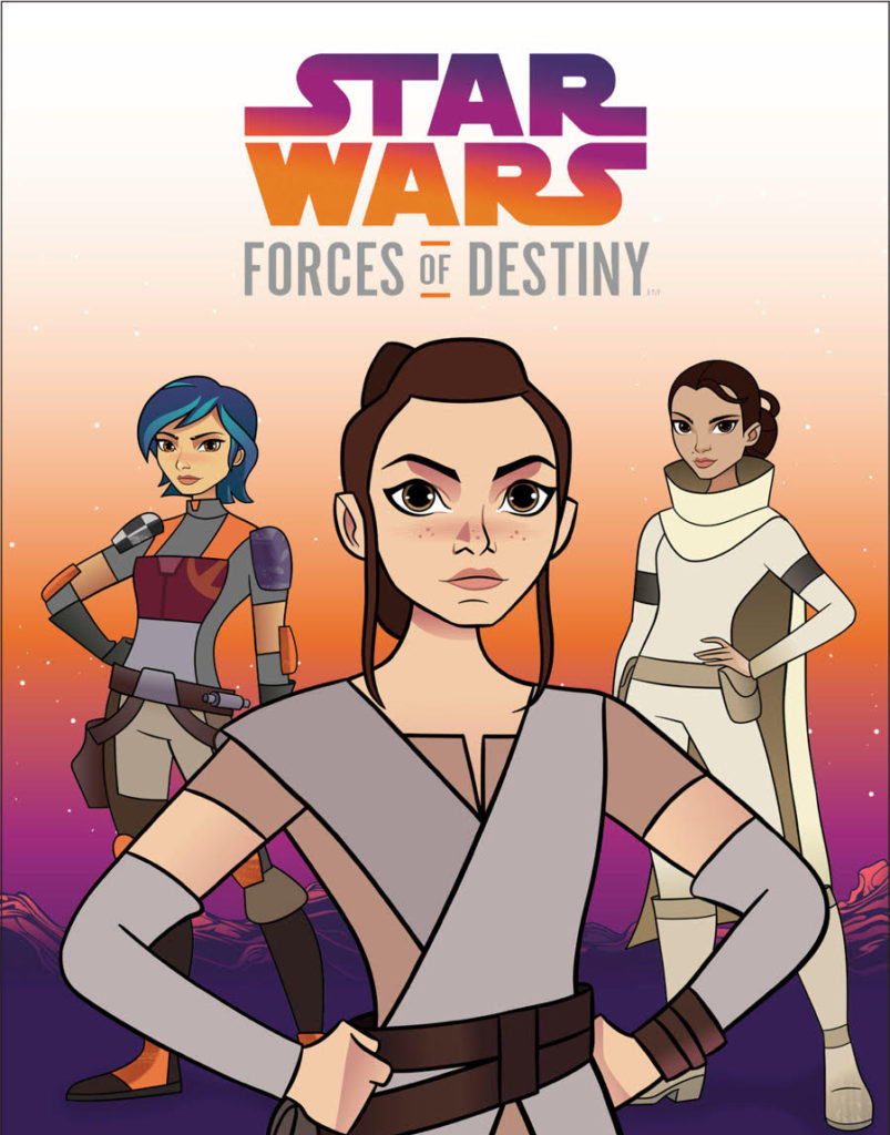 Star Wars Forces of Destiny Book Cover