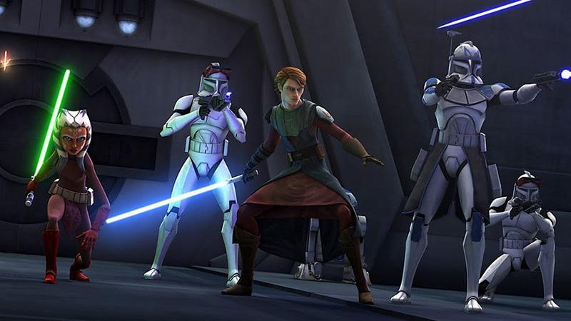 Star Wars: The Clone Wars TV show
