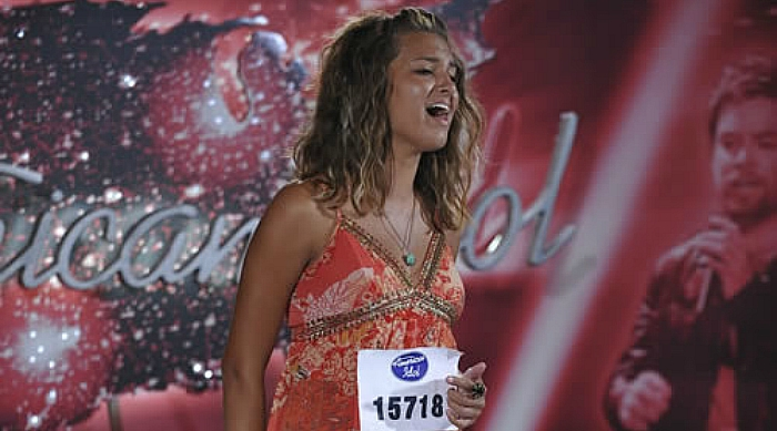 Tori Kelly auditioning for American Idol