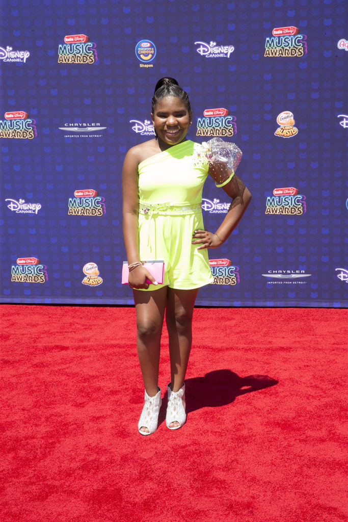 """DISNEY CHANNEL PRESENTS THE 2017 RADIO DISNEY MUSIC AWARDS - Entertainment's brightest young stars turned out for the 2017 Radio Disney Music Awards (RDMA), music's biggest event for families, at Microsoft Theater in Los Angeles on Saturday, April 29. """"Disney Channel Presents the 2017 Radio Disney Music Awards"""" airs Sunday, April 30 (7:00 p.m. EDT). (Disney Channel/Image Group LA) TRINITEE STOKES"""