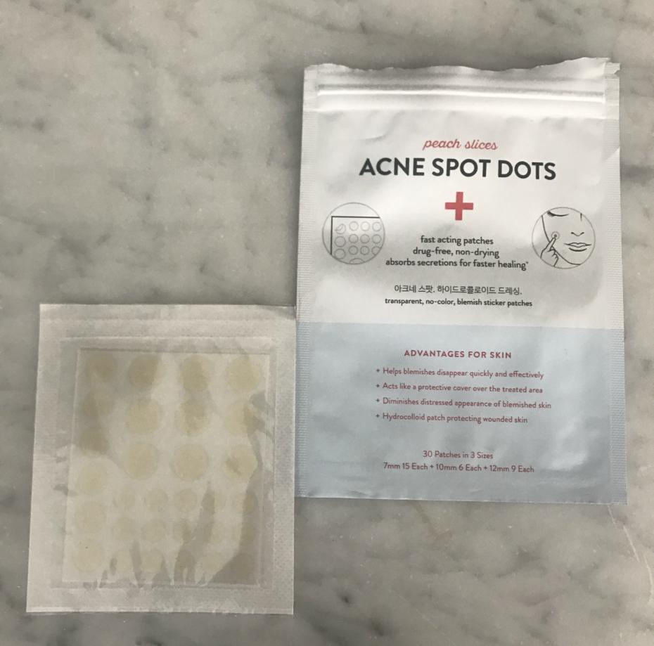 acne spot dots