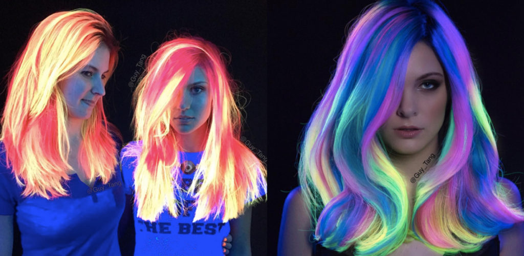 You Must See These Glow In The Dark Hairstyles
