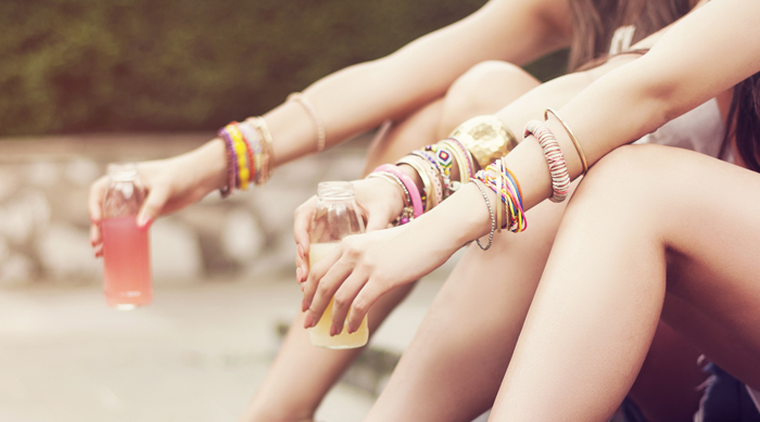 Stacked Boho Bracelets Arm Party Accessories