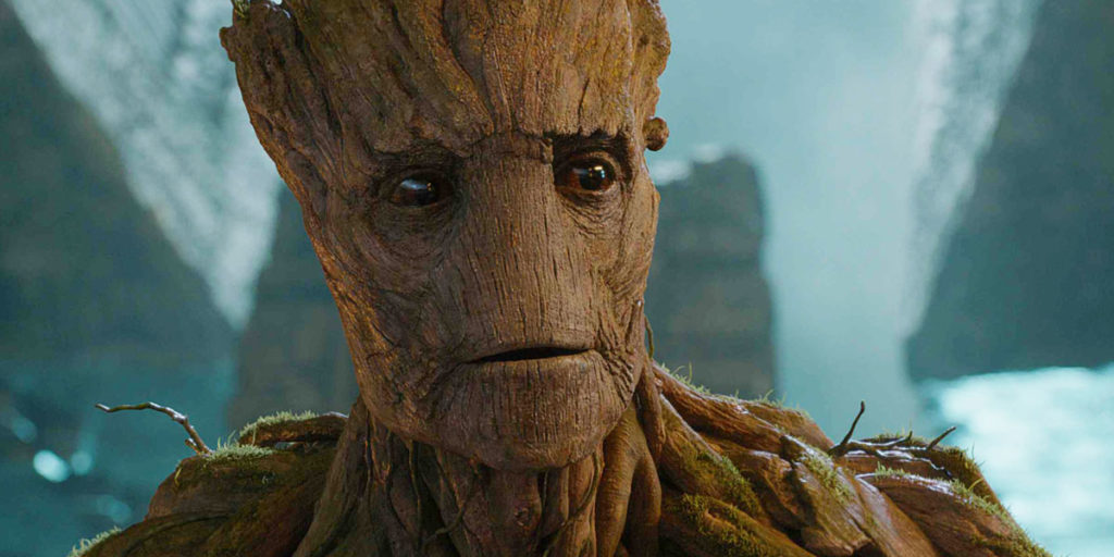 Adult Groot from Guardians of the Galaxy