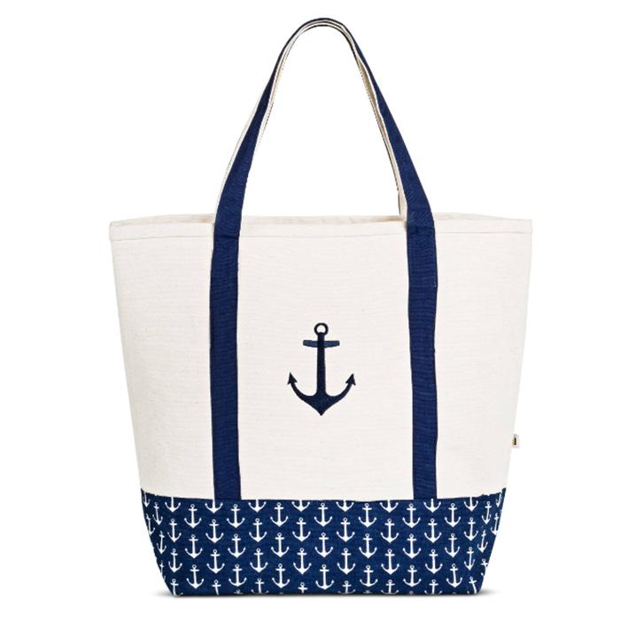Anchor beach bag from Target