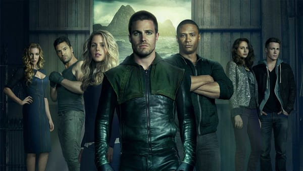 Poster for the CW's Arrow