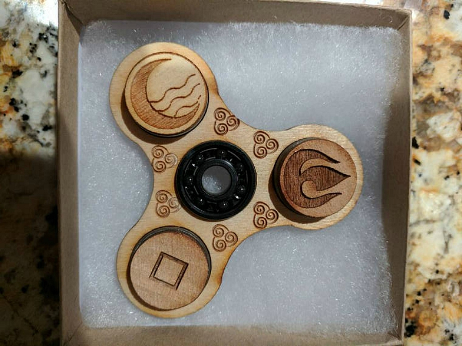 Pop Culture Inspired Fid Spinners