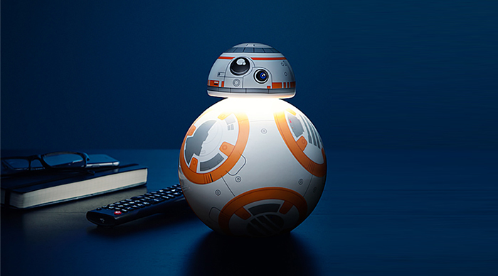 BB-8 Star Wars Decor: Desk Lamp