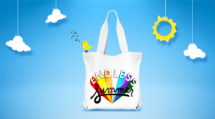 Endless Summer beach bag from Ban.do