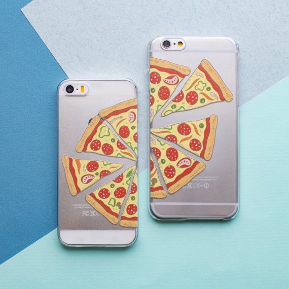 Best Friend phone cases with pizza on them