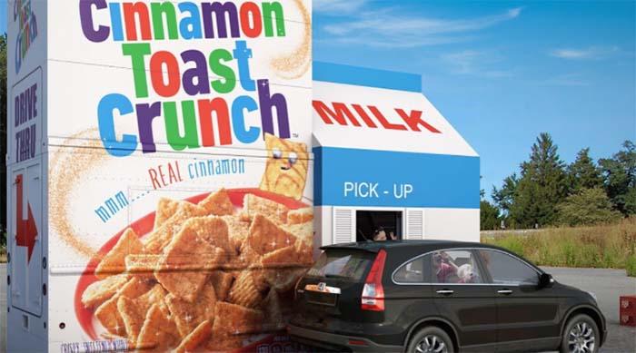 Cinnamon Toast Crunch drive-thru in Arizona