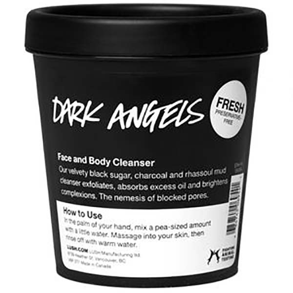 Dark Angels Face and Body Cleanser from Lush
