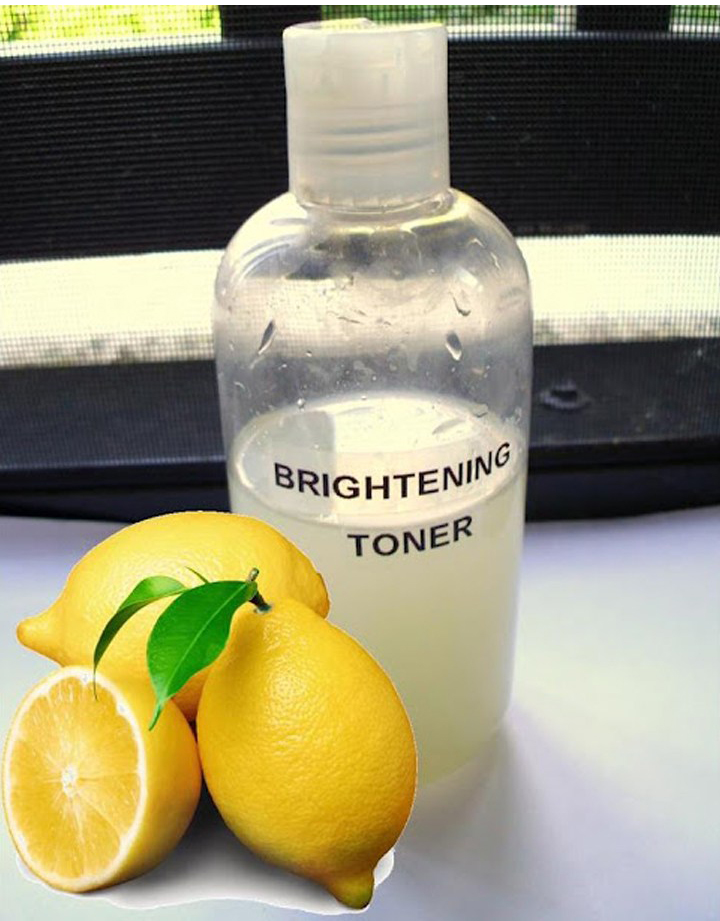 DIY brightening facial toner recipe from Shwin & Shwin