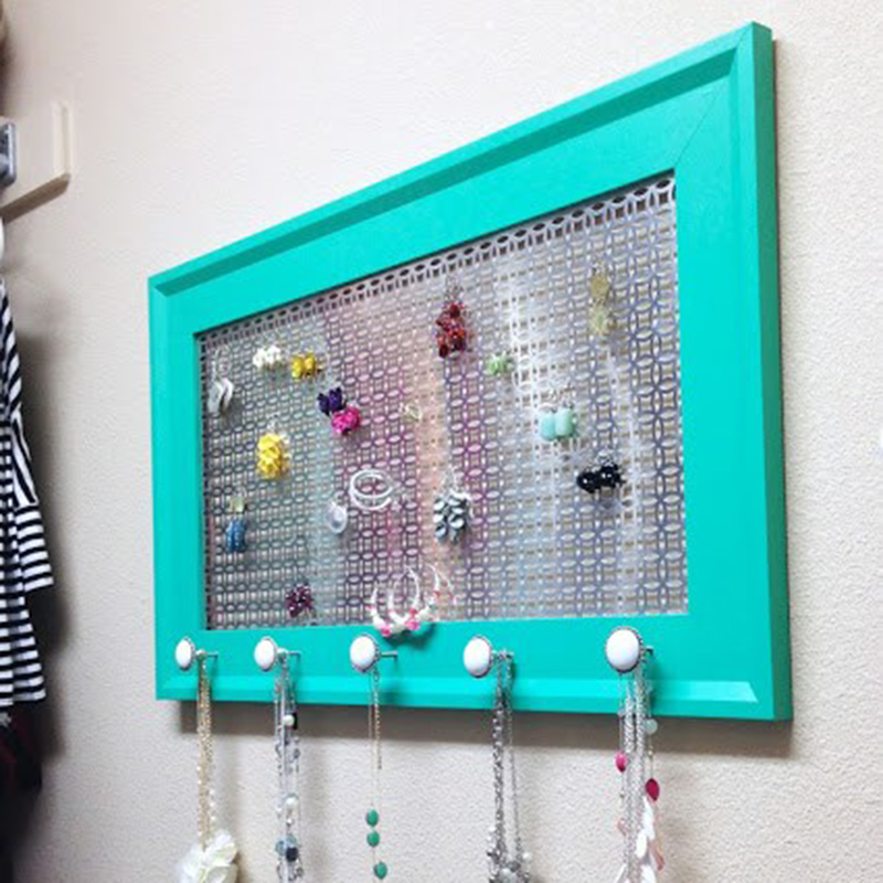tutorials for diy jewelry holders