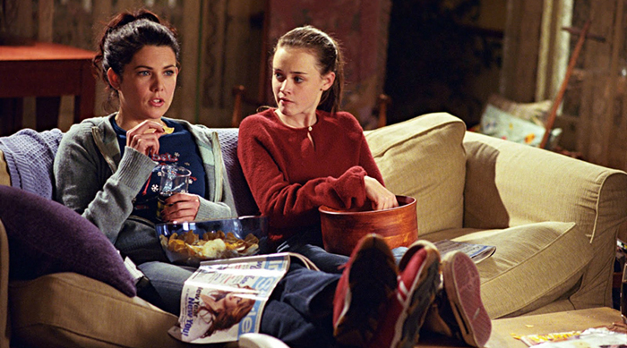 Screen grab from Gilmore Girls