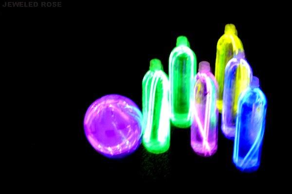 Glow in the dark bowling