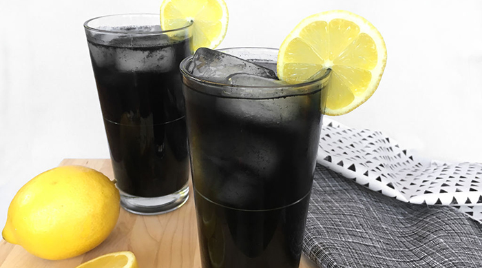 Black Lemonade recipe from Instructables