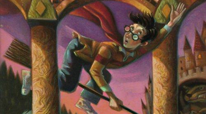 Harry Potter cover The Sorcerer's Stone