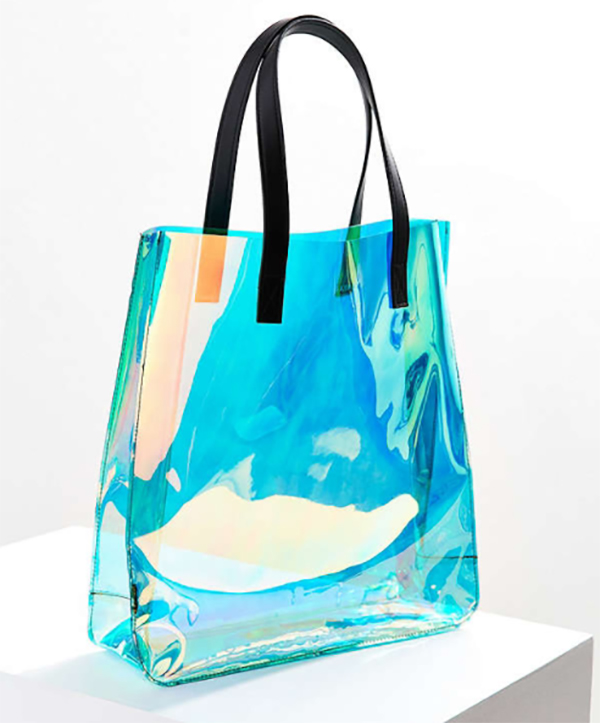 Iridescent tote bag from Urban Outfitters