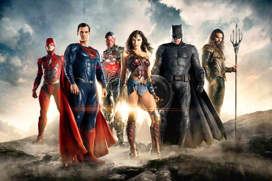 Justice League movie shot