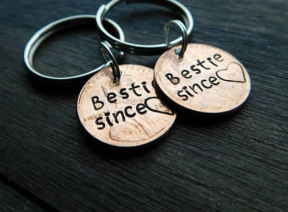 Bestie Keychain