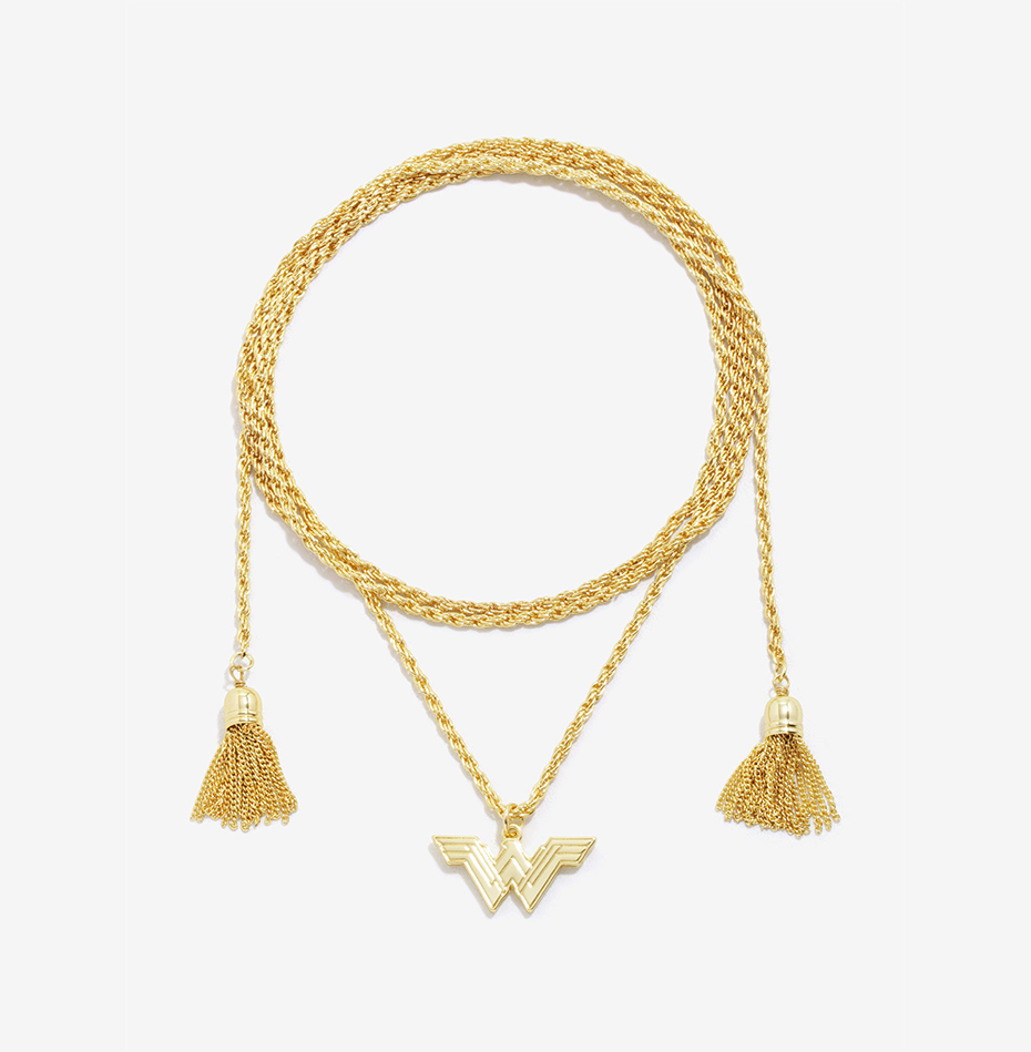 Wonder Woman lasso of truth choker necklace