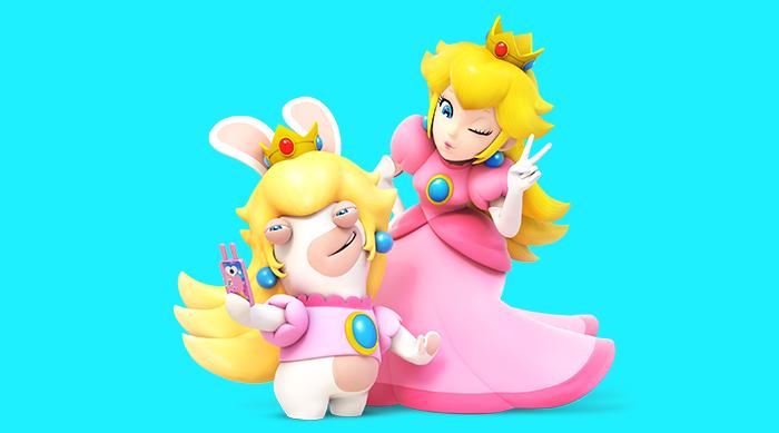 Mario+Rabbids Kingdom Battle Peach and Rabbids Peach