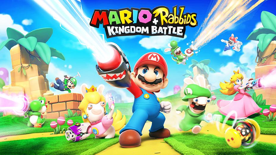 Mario + Rabbids Kingdom Battle main logo