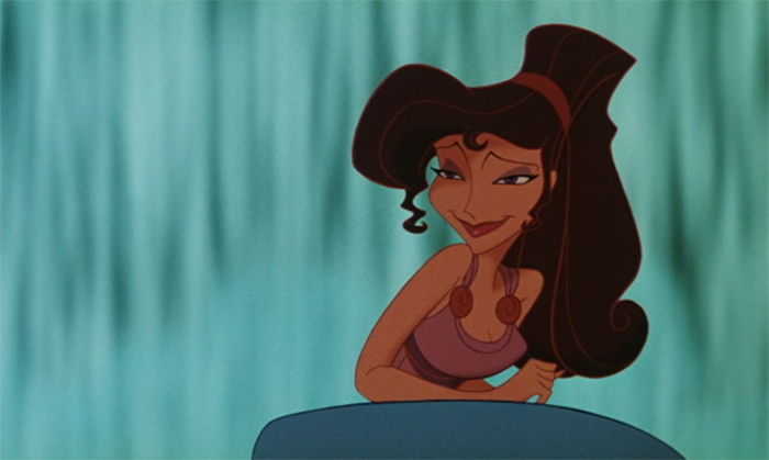 Megara after she was captured by a centar in Hercules