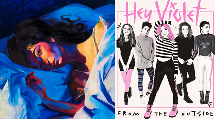 Album artwork for Lorde and Hey Violet