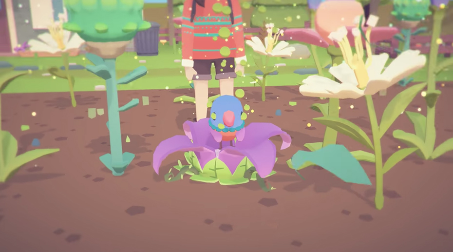 Ooblets: Bird growing from seed