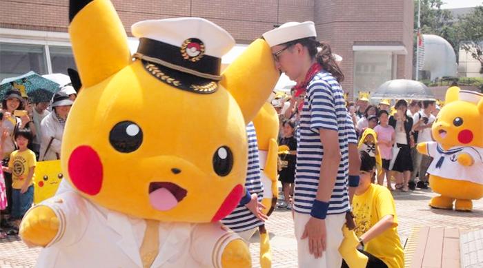 Pikachu Outbreak Festival Sailor Pikachu