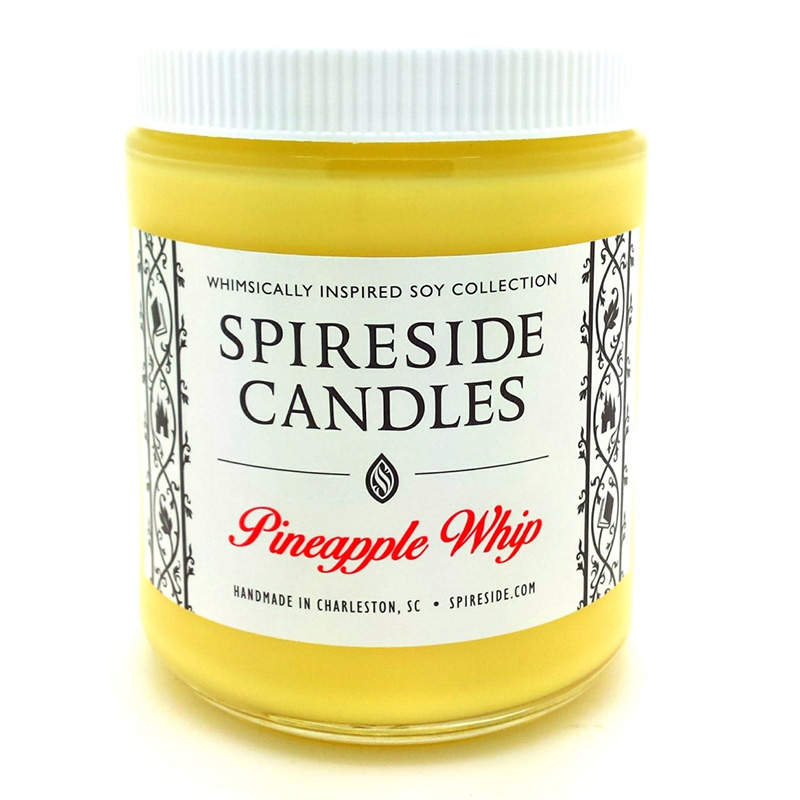 Pineapple Dole Whip-scented candle from Etsy