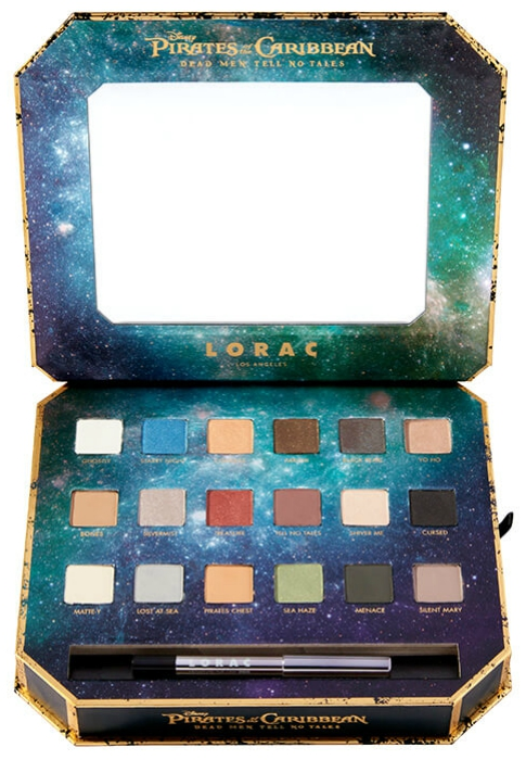 Pirates of the Caribbean inspired makeup palette
