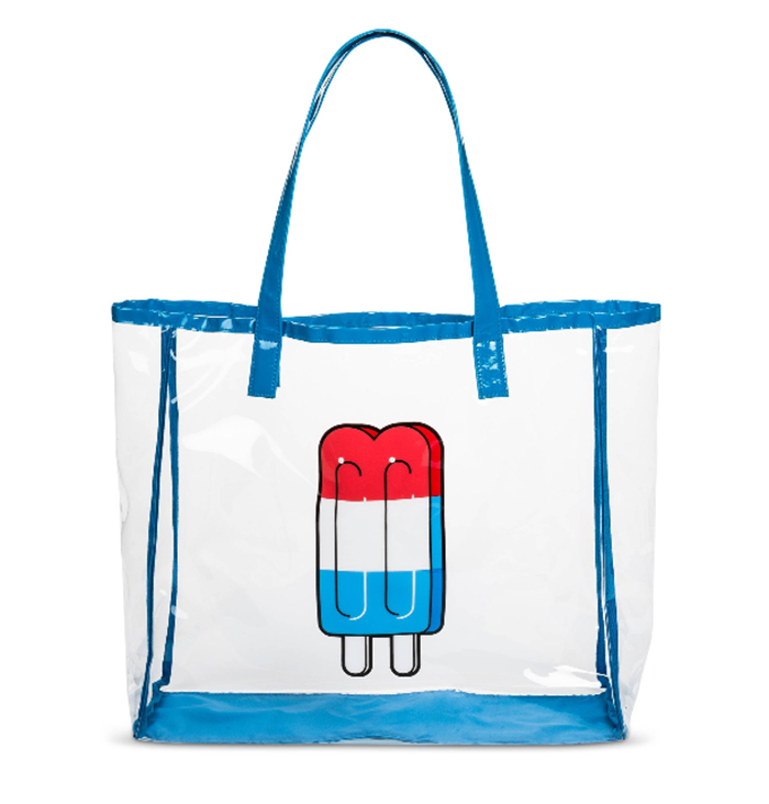 Popsicle beach bag from Target