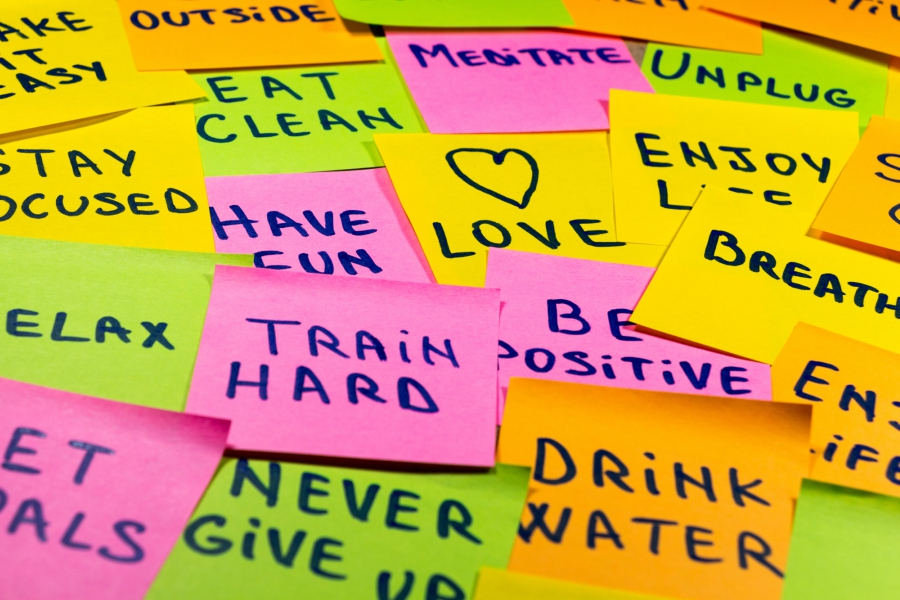 Positive Sticky Notes