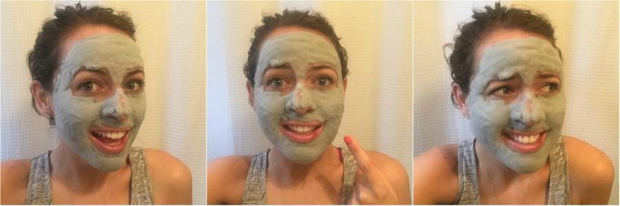 Progression of Bubble Face Mask