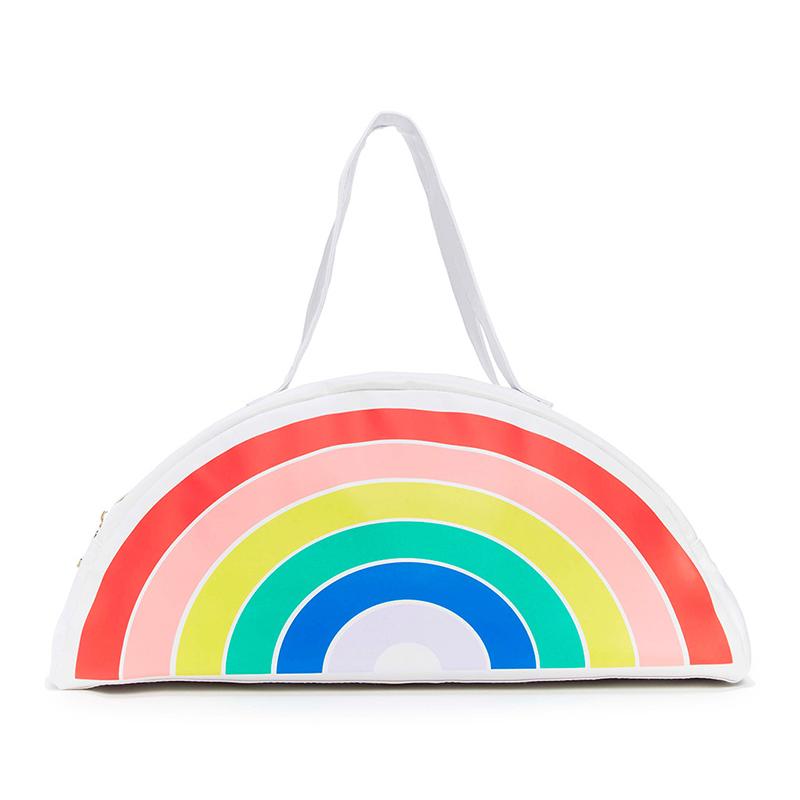 Rainbow beach bag from Ban.do