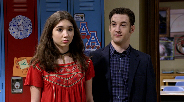 Girl Meets World Daughter Riley Dad Jokes to Celebrate...
