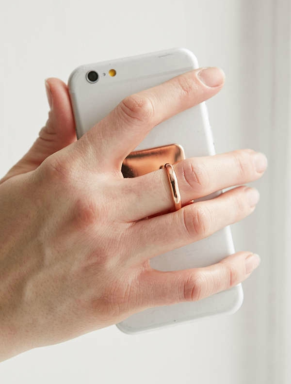 Rose Gold iPhone Ring