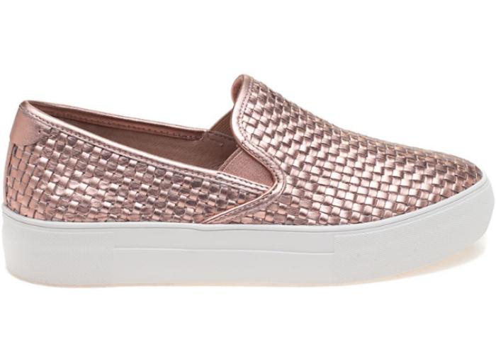 Rose Gold JSlides footwear