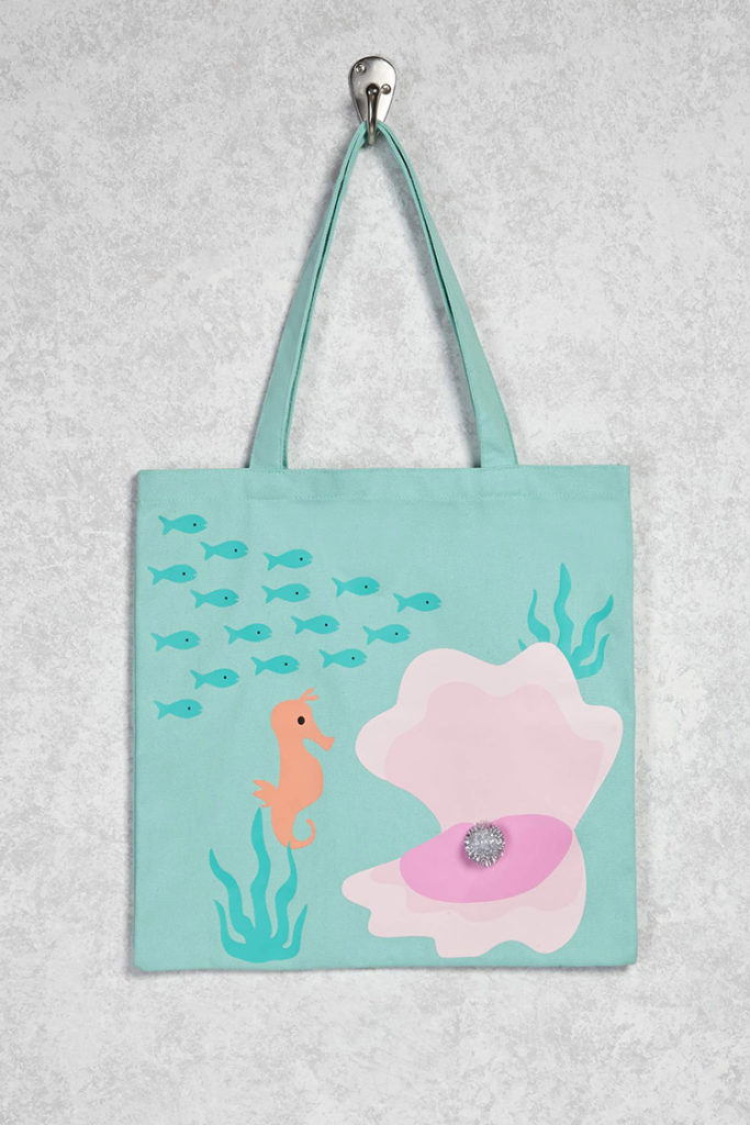 Sea life beach bag from Forever 21