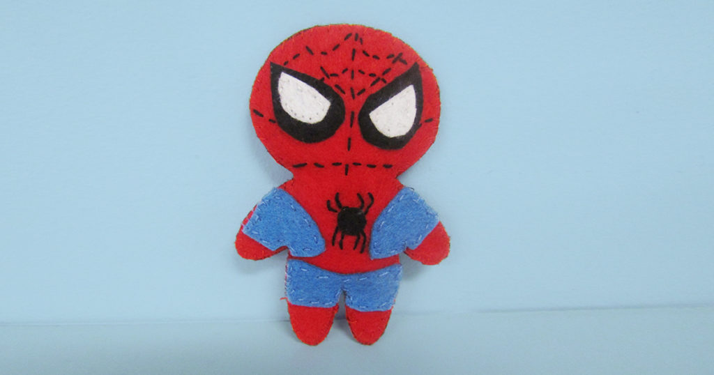 review of marvel universe felt character crafting kit