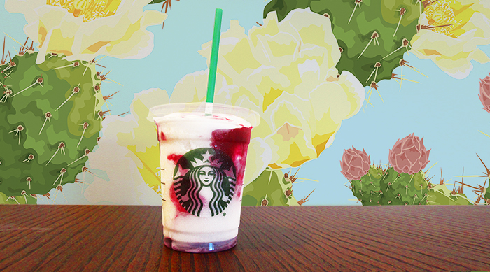 Starbucks Berry Prickly Pear Frappuccino Blended Creme