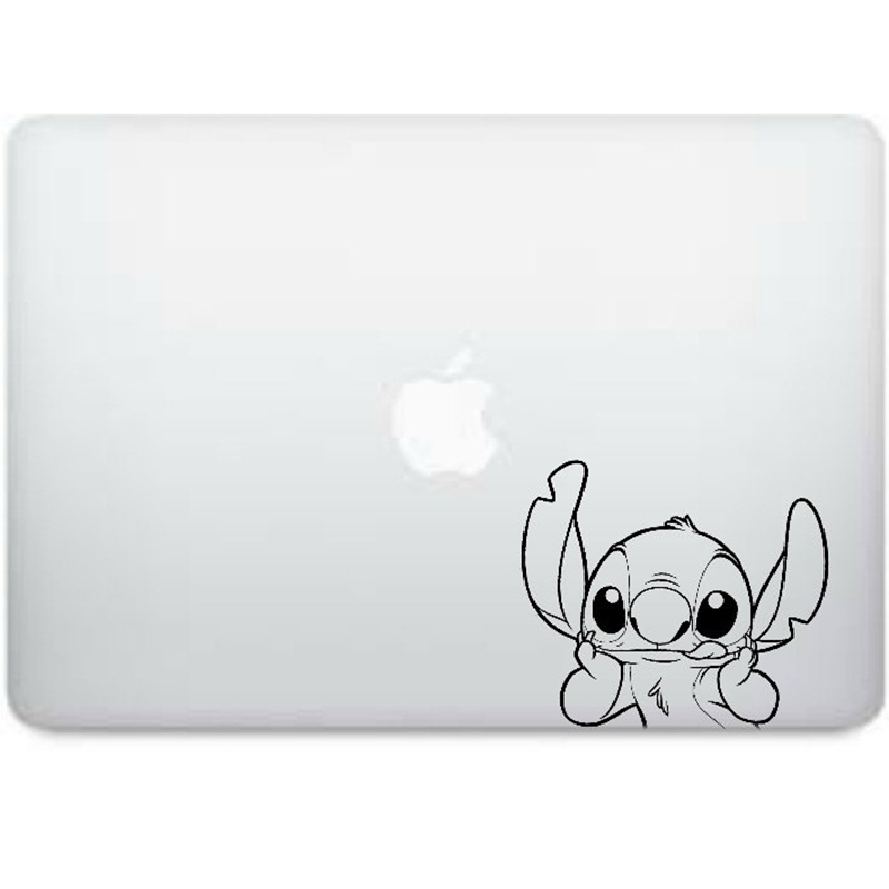 Stitch laptop decal from Etsy