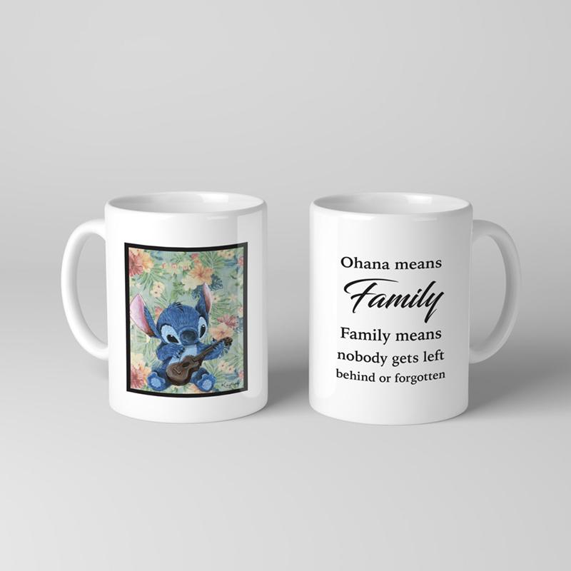 Stitch ohana mug from Etsy